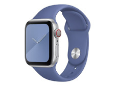 Genuine Apple Watch Sport Band Strap (38mm / 40mm) - Linen Blue - New