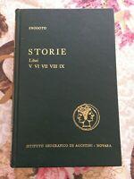 Erodoto storie libri V VI VII VIII IX istituto geografico De Agostini 1962