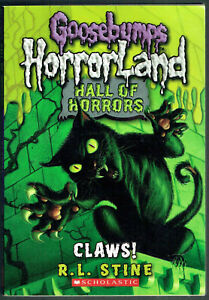 GOOSEBUMPS, HALL OF HORRORS. CLAWS! #1 AS NEW, 1st ed, USA.