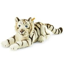 STEIFF Bharat the white Tiger EAN 066153 43cm Child gift plush soft toy New
