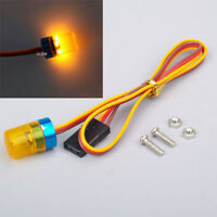 5Modes 360° Rotation 1:8 1:10 RC Car Police Flash LED Light Red/Yellow/Blue
