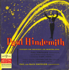 HINDEMITH Cello Concerto COUPERIN GIARDINI TORTELIER Supraphon Blue/Gold LOW S&H