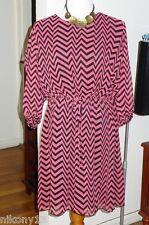 NWT Plus Size Designer En Focus Woman Chiffon Dress, 18W