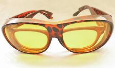 Nachtfahrbrille Autofahrerbrille Überziehbrille  Brille Kontrastbrille