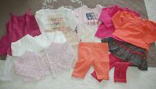 Lot vêtements bébé fille 18 mois pantacourt legging t-shirt Tape à L'Oeil Levi's