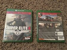 Sniper Elite 4 Limited Edition Xbox One Brand New Factory Sealed Free Shipping