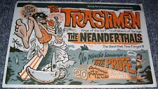 THE TRASHMEN REALLY STUNNING AND ABSOLUTELY GORGEOUS SPANISH TOUR POSTER 2008