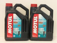 7,99€/l Motul Outboard Tech 4T 10W-40 2 x 5 Ltr 4-Takt Außenbord Motorenöl