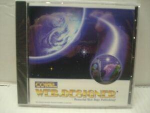 Corel Web Designer Powerful Web Page Publishing (Windows CD-Rom ) NEW