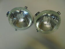 2 Phare Optique Fiat Seat 1100 R 124 850 Front light Headlamp Scheinwerfer faro