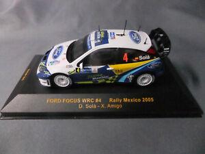 IXO 1:43 Scale 2005 Ford Focus #4 Mexico Rally RAM185