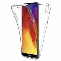 Housse Coque Gel 360 Protection Intégral Transparent Pour Huawei Y6 2019