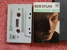 Bob Dylan – Greatest Hits Label: CBS  Records 40-62847 Tape Cassette Album