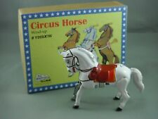 Tin Toy - Jumping Horse White Wind Up