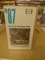 1987 a year in your life VHS VIDEO