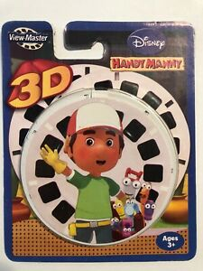 DISNEY HANDY MANNY 3D VIEW-MASTER REELS 3 PACK Brand New