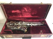 """Super 1930's Keilwerth """"Tone King"""" Alto Saxophone Ser. 17228, With Case"""