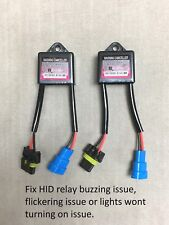 2 x HID XENON ERROR CANCELER CAPACITOR 9V-16V Anti-Flicker H13 9008 880 881 5202