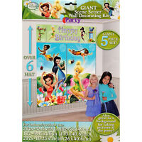 Disney Fairies Party Decorations Girls Birthday Supplies Scene Setter