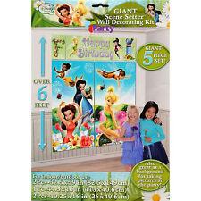 Disney Fairies Party Decorations Girls Birthday Supplies Scene Setter