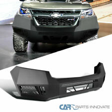 For 15-20 Chevy Colorado Pickup Truck Black Steel Front Bumper Guard Replacement