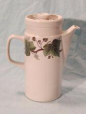 Wedgwood Napoleon Ivy, Coffee Pot & Lid, Oven to Table