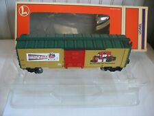 LIONEL 6-26741 SANTA CLAUS W/TOY SACK OPERATING BOXCAR  TOY TRAIN