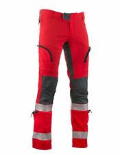 VERTICAL Oversky Rettungsdienst Hose Einsatzhose Wasserrettung rot + Reflex