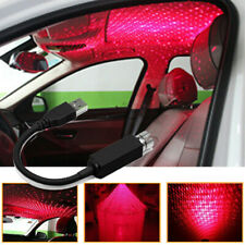 USB Car Atmosphere Lamp Ambient Star Light LED Projector Lamp Accessories US
