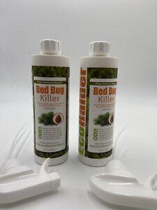 EcoRaider Bed Bug Killer Spray 16 Oz, Green + Non-toxic, 100% Kill Pack of 2