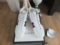 Gucci Ace Sneaker Blind for love Patch Sneaker High Top Trainers Shoes Schuhe