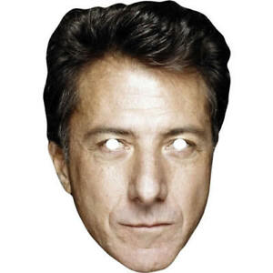 Dustin Hoffman 1980s Retro Actor Card Mask - All Our Masks Are Pre-Cut!
