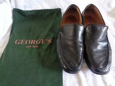 Georges Hand Made Leather Shoes Size 10 & Bag