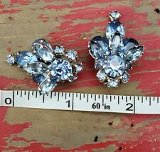 Gorgeous Vintage Costume Earrings Clip On