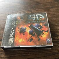 G-Police Sony PlayStation 1 PS1 PSX PSONE Black Label Game