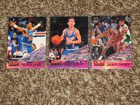3 Card Lot 1993 Topps Stadium Club Beam Team 1993-94 Patrick Ewing Hurley Insert