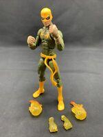 "Hasbro Marvel Legends Iron Fist 6"" COMPLETE Action Figure Dormammu NO BAF Piece"
