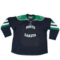 North Dakota Fighting Sioux Reebok Hockey Jersey XXL Blank WCHA