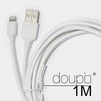 USB Lightning Daten Lade Kabel iPhone 8 7 6 6s Plus 5 5S 5C SE iPad iPod Weiß 1m