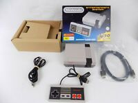 Like New Boxed Nintendo Mini NES Entertaintment System Console + Games + HDMI