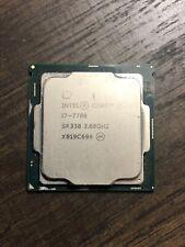 Intel Core i7-7700 3.60GHz SR338 Quad Core Socket LGA1151 Desktop CPU Processor
