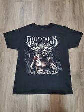 Godsmack T Shirt 2019 Tour Black Size M