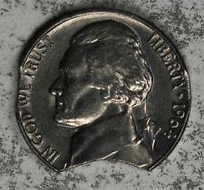 Nice Uncirculated 1964 D Double Clip Jefferson Nickel Mint Error!!