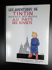 Album Tintin au pays des Soviets Fac similé noir et Blanc de 1981