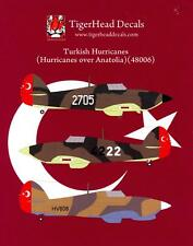 Tigerhead Decals 1/48 TURKISH HAWKER HURRICANE Fighters over Anatolia