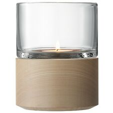 LSA Lotta Lantern/Tealight Holder & Ash Base 13cm