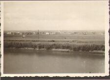 EGYPTE PHOTO BORD CANAL DE SUEZ PAQUEBOT ERIDAN 1948