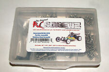 ASSOCIATED RC-10 B4 RC SCREWZ SCREW SET STAINLESS STEEL ASS006