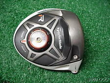 Very Nice Taylor Made R1 Adjustable degree Driver Head Only & Screw