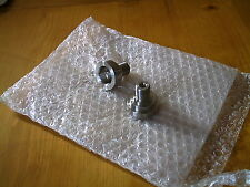 motorcycle/motorbike spacers,inserts,adapters made up, stainless, alloy,one offs